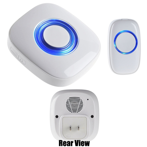 Boom Blasters Portable Multiple Chime Tones Wireless Doorbell