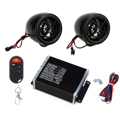 Triton MC Series Multifunction MP3 Wireless Car Horn Set